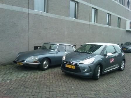 Citroën DS2 en DS3 schuin
